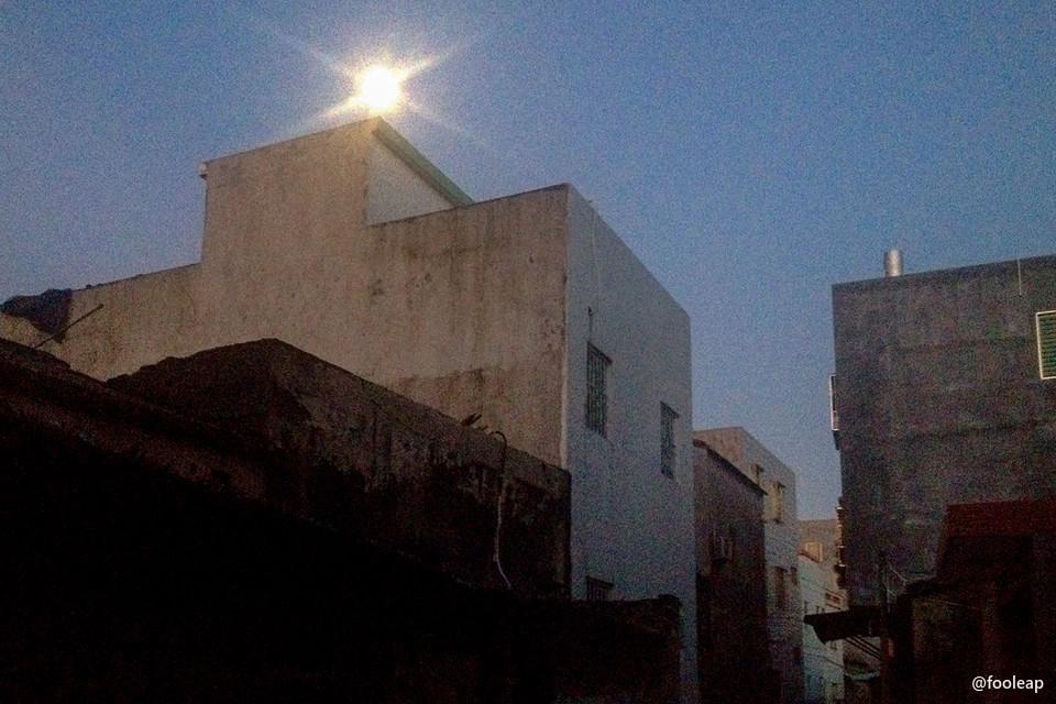 五点左右的月亮,丁厝巷