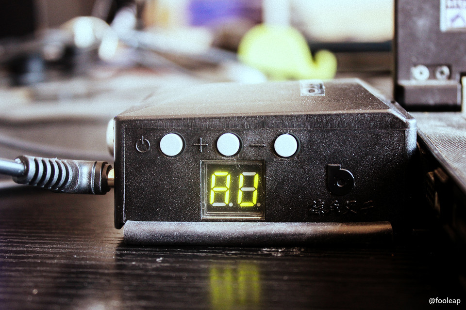 使用中的散热器