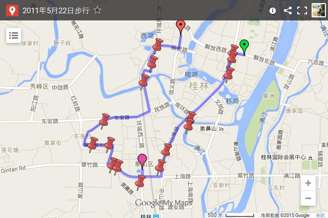 通过 Google Maps 分享的地图
