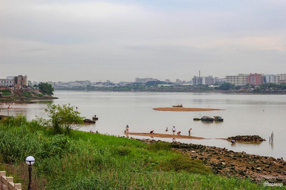 渡亭附近河段