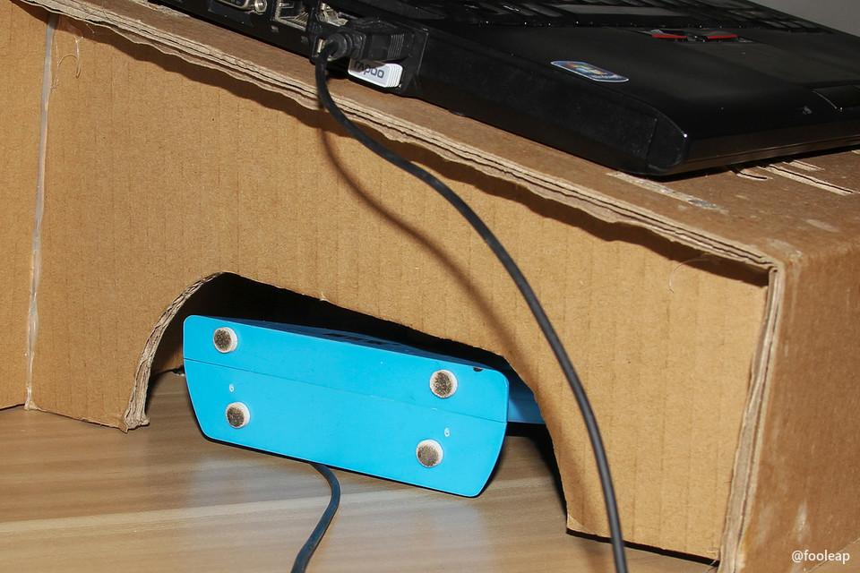 用 USB 风扇散热