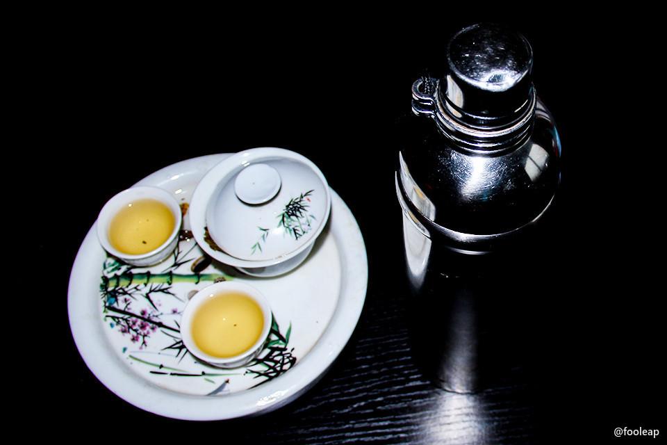 保温瓶和工夫茶具