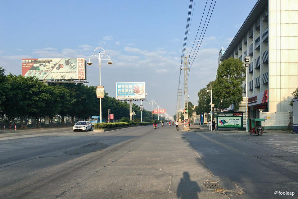 莱美路莱美工业区路段