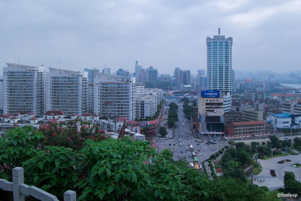 五一柳州之游有感