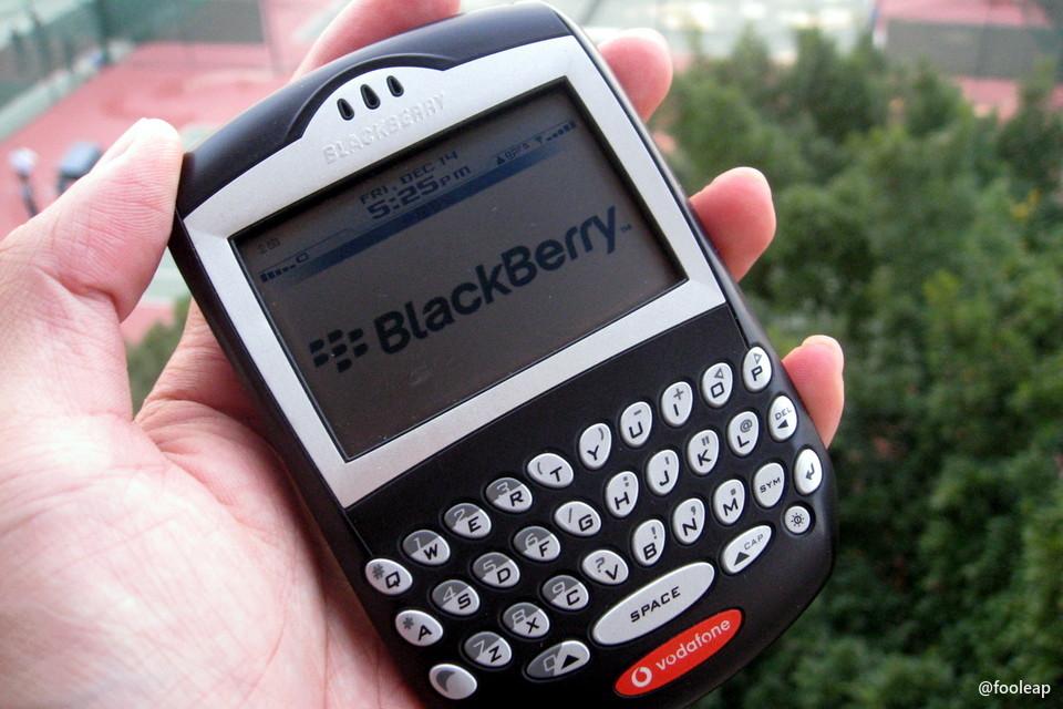 黑莓 7290