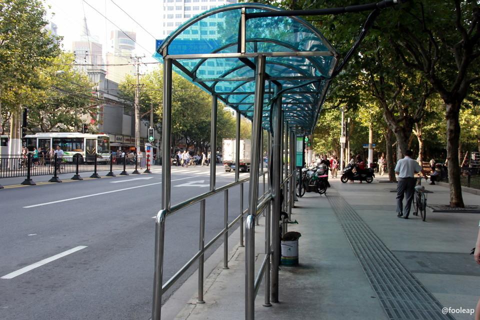 排队公交站