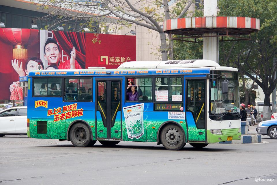 也算半个公交迷