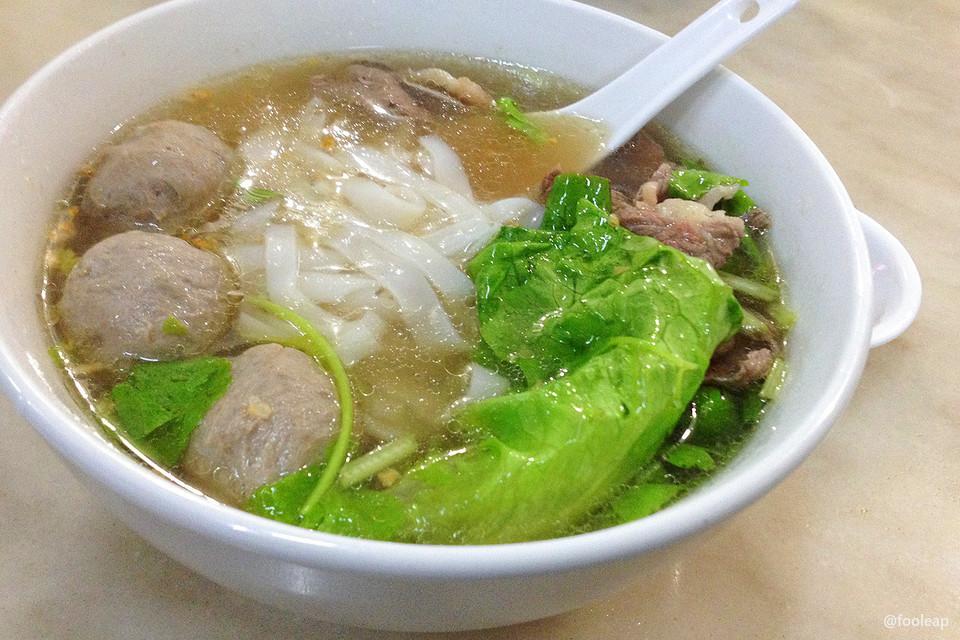 牛肉粿条汤