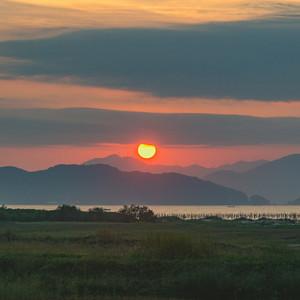 培隆角的日出