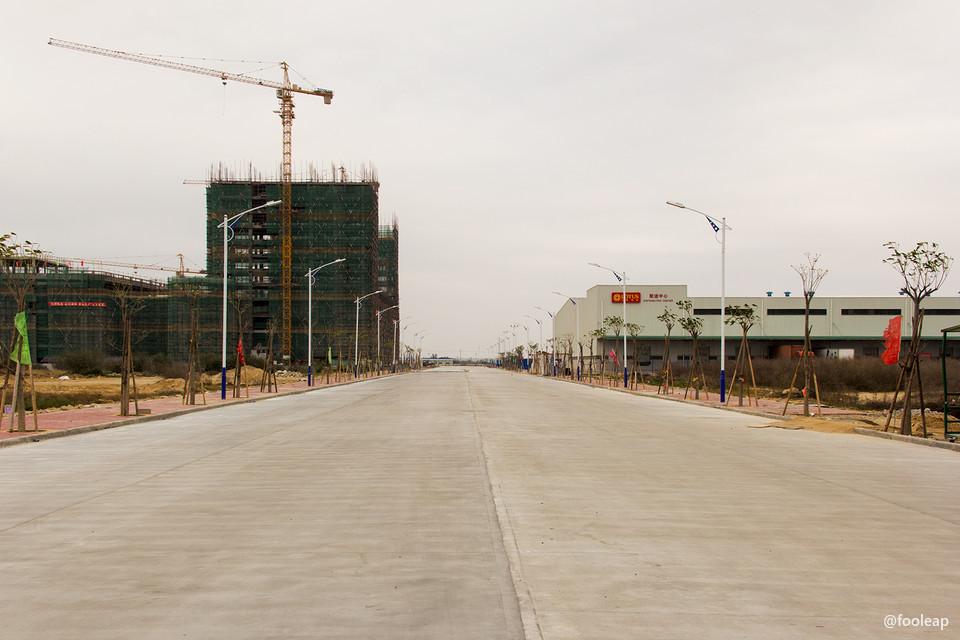 宝奥城内道路