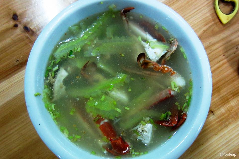 螃蟹苦瓜汤