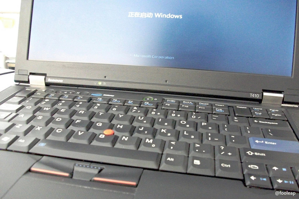 ThinkPad T410 by fooleap